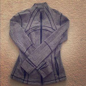 Lululemon houndstooth define jacket